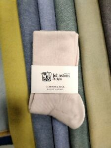 Cashmere Socks   Johnstons of Elgin   Made in Scotland   Pink   Soft and snug