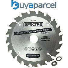 Spectre Pro 136mm x 20mm Bore 20 Tooth Long Life TCT Circular Saw Blade Wood