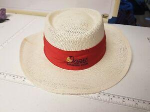 Doral Country Club Straw Hat Golf Texace Unithat USA Vintage