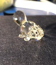 New ListingCute Swarovski Crystal Figurine Baby Lying Beaver 7616Nr003