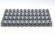 Brick 1x12 with Holes 4211860 3895 LEGO 4x Light Bluish Gray Technic