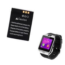 380mAh 3.7V Wiederaufladbares Li-Ion Polymer Batterie Akku Für DZ09 Smart Watch