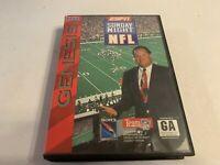 ESPN Sunday Night NFL Sega Genesis Complete in Box Tested