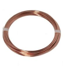 12 Ga Bare  Solid Copper Wire 100 Ft Coil ( Dead Soft ) 99.9% Pure Copper