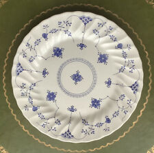 "Vintage ""Yorktown"" by Salem China Co Blue & White 10"" Ironstone Dinner Plate"