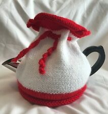 *HANDKNITTED* TEA COSY Choose your own colours!