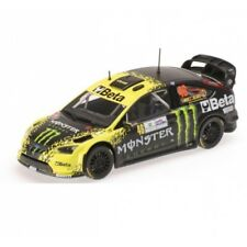 Ford Focus WRC Beta Monster Valentino Rossi Rally Monza 2009 MINICHAMPS