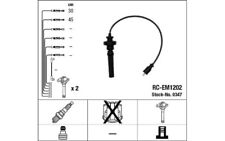 NGK Cables de bujias 0347