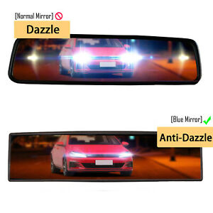 270MM curved white mirror wide-Angle bright interior rearview mirror universal