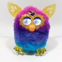 FURBY BOOM CRYSTAL SERIES HASBRO 2012 BLUE PINK INTERACTIVE ELECTRONIC PET TOY