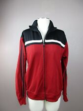 *BILLABONG* SIZE L MEN'S FULL ZIP MULTI COLOR ATHLETIC SWEATER W/SIDE POCKETS
