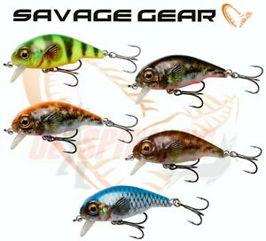 Savage Gear Fishing Lures NEW 3D GOBY CRANK SR Shallow Runner All Colours Perch