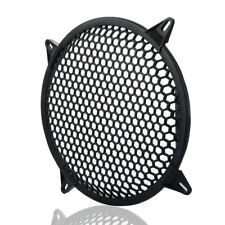 "Plastic 12"" Inch Grill Waddle Speaker Sub Woofer Speaker Grills Covers Black"