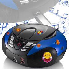 Enfants Radio, Lecteur CD Puffy Sticker USB Boombox MP3 Stereo Big Lumière