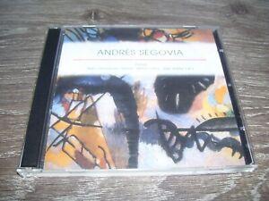 Andrés Segovia - Portrait 1893 - 1987 * Guitar Music 3 CD Set 2003 *Andres