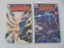 9x Marvel Secret Wars N. 1-9 COMIC RACCOLTA PANINI 2016 0-1/1 stato
