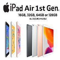 Apple iPad Air 1st Gen ,16/32/64/128 GB Wi-Fi / WiFi+4G - Space Grey & Silver