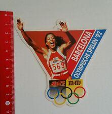 Aufkleber/Sticker: Barcelona - Olympischen Spiele 1992 - Mars / m&m (1506168)