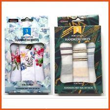 72 X Mens & Womens Handkerchiefs Pure Cotton | Hankie Tissue Reusable Washable