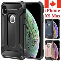 For iPhone XS Max Case - Heavy Duty Dual Layer Shockproof Hard Armor Cover