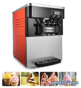 220V Ice Cream Machine Commercial 2200W Soft Serve Cold Drink Machine