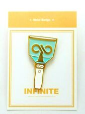 Infinite Metal Badge KPOP Photo Light Stick WooHyun SungJong Hoya DongWoo L Yeol
