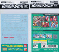 [Bandai] Genuine MG 1/100 ZGMF-X19A Infinite Justice Gundam waterslide decal 55