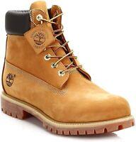 Timberland Men's 6 Inch Premium TB010061 Classic Boots Wheat Waterproof NEW