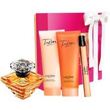 Lancome Paris Tresor Passions 4P Gift Set Body lotion shower gel purse spary New
