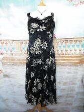 New?CC Dress 10 Silk Floral Print Beaded Flapper Occasion Country Casuals Cruise