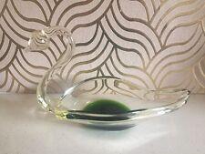 Fabulous Vintage Murano Glass Swan Dish