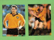 1995 AUSTRALIAN  RUGBY UNION SAMPLE / PROMO CARDS - DAVID CAMPESE & FARR-JONES