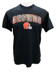Cleveland Browns Men's Heritage RealTree Camo Logo T-Shirt - Black
