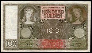 PAYS BAS  100 Gulden ; émis le 13 Mai.1941 ; Pick#49a