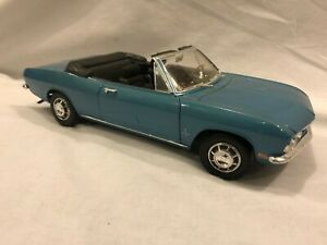 Road Signature 1969 Corvair Monza Convertible Blue 1/18 Diecast