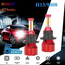 New listing 2400W H13 9008 Cree Led Headlight Conversion Kit 360000Lm Hi-Lo Beam Bulbs 6000K