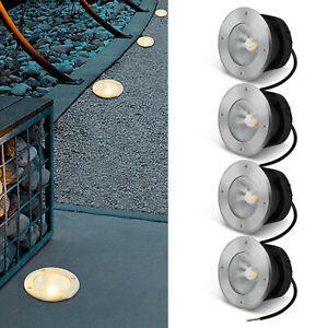 Bodenleuchte Einbaustrahler LED Bodeneinbauleuchte Außen Beleuchtung Spots Lampe