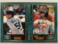 2001 Topps Traded #T99 Albert Pujols Ichiro Suzuki Rookie Card RC