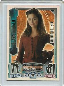 Doctor Who Alien Attax CCG Limited Edition LE1 Clara Oswald Topps - 2013 - RARE