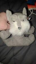 New listing Russ Luv Pets Scruffy Schnauzer Dog Stuffed Animal Tags