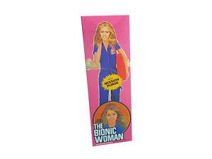 Denys Fisher Bionic Woman Mission Purse Figure Repro Box (Non Window Version)
