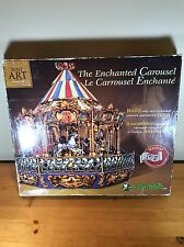 Wrebbit Enchanted Carousel Musical Built Art Collection Complete