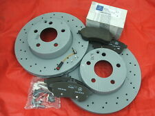 Genuine Mercedes-Benz W204 C-Class Saloon/Est AMG Front Brake Discs & Pads Kit