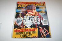 #494 KERRANG music magazine GUNS N ROSES - AEROSMITH