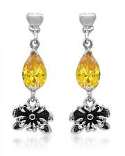 ED HARDY Lovely Earrings With Cubic zirconia Made in Stainless steel.