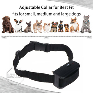 Automatic Shock Control Collar No Barking For Small Medium Large Dog Anti Bark
