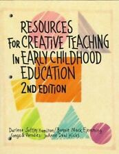 Resources for Creative Teaching in Early Childhood Education-ExLibrary