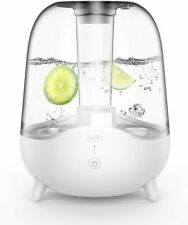 Deerma 5L Crystal Clear Ultrasonic Cool Mist Humidifier for Bedroom, Large Room
