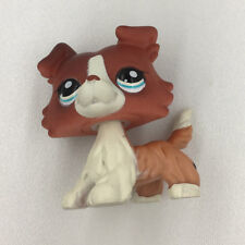 Littlest Pet Shop Collie Dog Puppy LPS #1542 Rare Figure Child Kid Birthday Toys