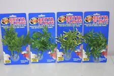 Aquarium Betta Petit Plastique Plantes x4 Salvia Fenêtre Érable Papaye Gamme Lot